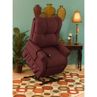 Medlift 1155DM Traditional Vinal Wood Frame  Recliners