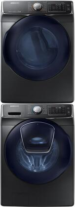 Samsung Appliance 691549 Black Stainless Steel Washer and Dr