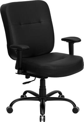 "Flash Furniture WL735SYGBKLEAAGG 29"" Contemporary Office Chair"