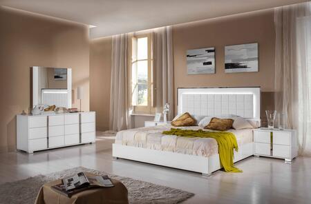 VIG Furniture VGACSANMARINOSETEK San Marino Series 5 Piece Bedroom Set