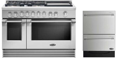 DCS 735868 Professional Kitchen Appliance Packages