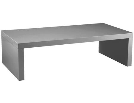 Euro Style 09704GRY Gray Lacquer Contemporary Table