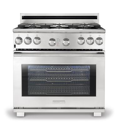 Electrolux Icon E36GF76JPS 36u0026quot; Professional Series Gas Freestanding  Range With Sealed Burner Cooktop, ...