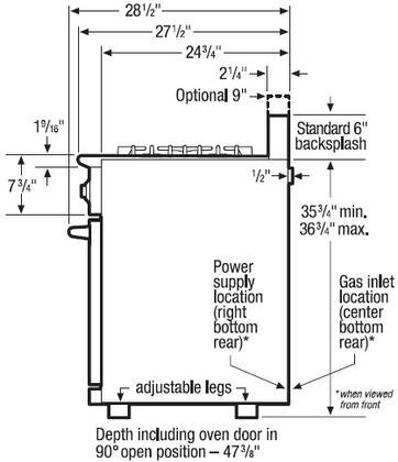 electrolux icon e36gf76jps 36 inch professional series gas  electrolux icon professional 6