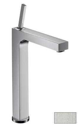 Hansgrohe 39020 Axor Citterio Bathroom Vessel Faucet with Pop-Up Drain: