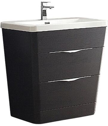 """Fresca FCB8532XXI Milano 32"""" Modern Bathroom Cabinet w/ Integrated Sink"""