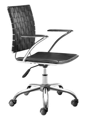Zuo 20503 Criss Cross Collection Office Chair in