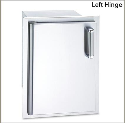 FireMagic 53820-SX Flush Mounted Series Single Door with Dual Drawers and X Door Hinge: Stainless Steel