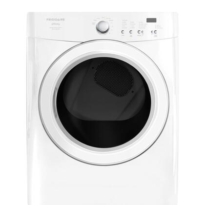 Frigidaire FAQG7021LW Gas Affinity Series Gas Dryer