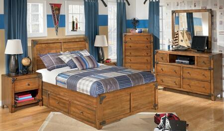 Milo Italia BR528SFPBDMN Stuart Full Bedroom Sets