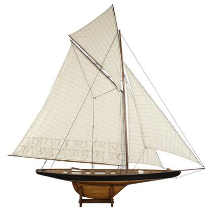 Authentic Models AS07X America's Cup Columbia 1901,  French Finish  with Basswood & Cotton Material