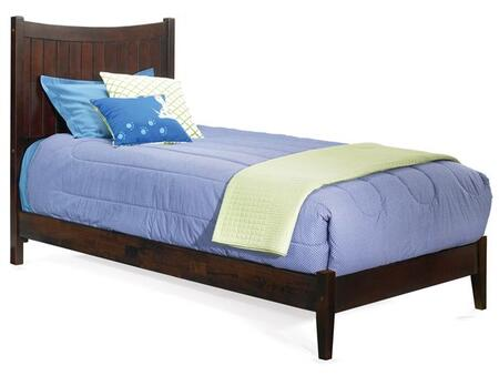 Atlantic Furniture MANHATTANOFTWINWH Manhattan Series  Twin Size Bed