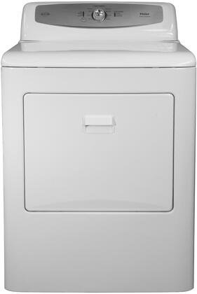 "Haier RDE350AW 27"" 6.5 cu. ft. Electric Dryer, in White"