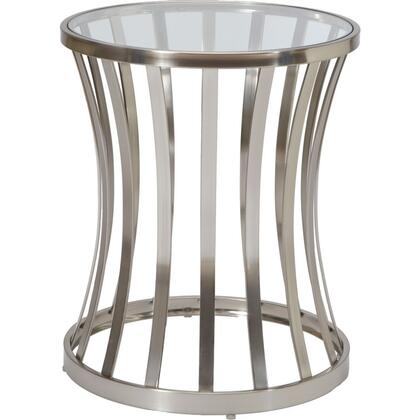 Allan Copley Designs 2070202G Alex Series Contemporary Round End Table