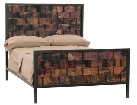 Stone County Ironworks 904748COP  King Size HB & Frame Bed