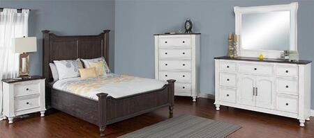 Sunny Designs 2308ECQBDMN Carriage House Queen Bedroom Sets