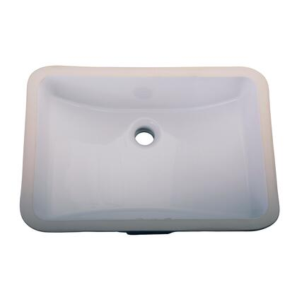 Barclay 4715WH White Sink