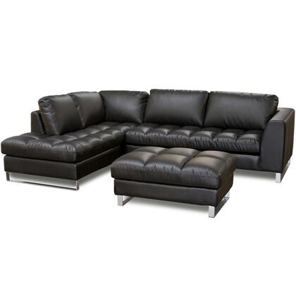 Diamond Sofa VALENTINOLF2PCSECTOTTOB  Sofa
