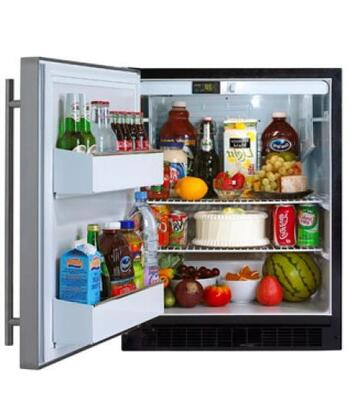 Marvel 6ADAMWWOLL  Built In Counter Depth Compact Refrigerator with 5.4 cu. ft. Capacity, 2 Wire Shelves