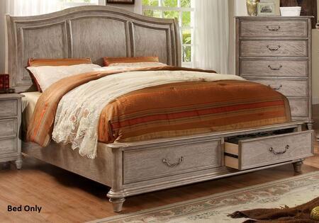 Furniture of America CM7613EKBED Belgrade I Series  King Size Bed