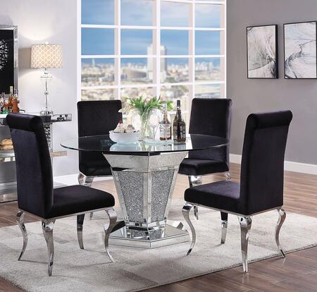 Acme Furniture 712855set Noralie Dining Room Sets Appliances