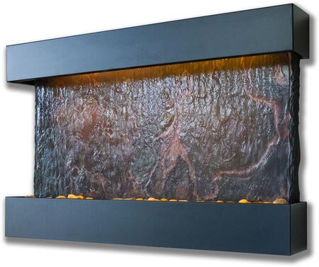 "Bluworld WWMHS- Lightweight Slate 38"" Horizontal Falls Fountain in"