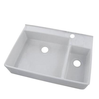 Belle Foret BFF5KITWH Kitchen Sink