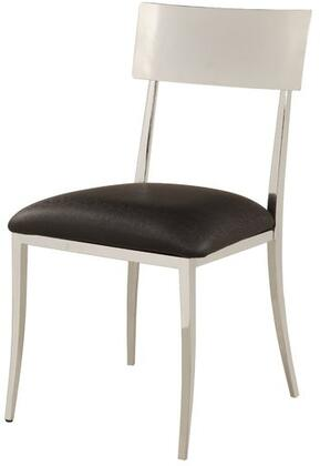 Chintaly LINDSAYSCBLK Lindsay Series  Dining Room Chair