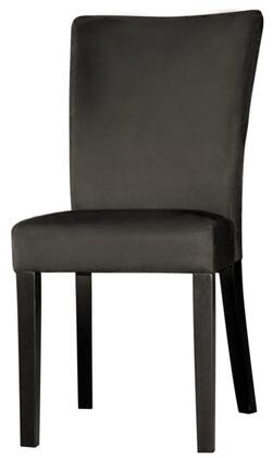 Chintaly MONICAPRSSCBLK2SET Monica Dining Room Chairs
