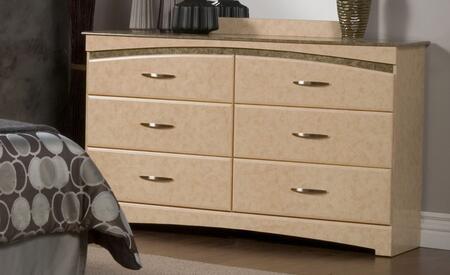 Sandberg 43506 Beverly Series MDF Dresser