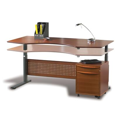 Unique Furniture 7190105XX Height Adjustable Sit Stand Desk 75""