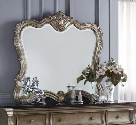 Meridian ROMAM Roma Series Rectangle Portrait Dresser Mirror