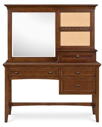 Magnussen Y187348D Riley Series Youth Desk with Vanity Mirror Childrens  Desk