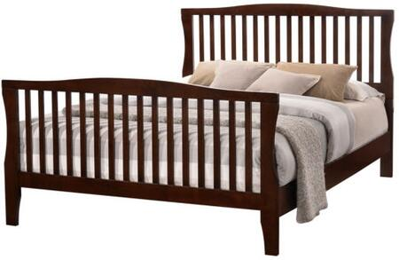Furniture of America CM7070EKBED Riggins Series  King Size Panel Bed