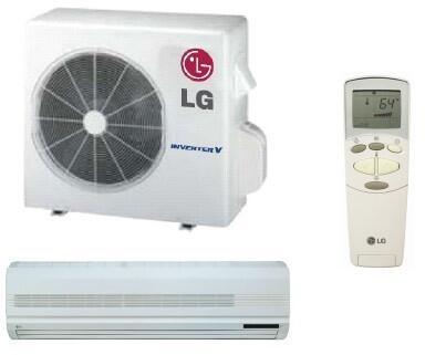 LG LS360HV2 Mini Split Air Conditioner Cooling Area, |Appliances Connection