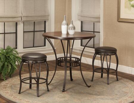 Sunset Trading CR-J3005-36-3PC Victoria Dining Bar Table Set
