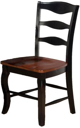 Jofran 841278KD Traditional Not Upholstered Wood Frame Dining Room Chair