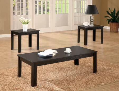 Coaster 7002 Casual Three Piece Occasional Table Set by Coaster Co.