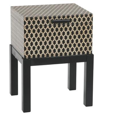 Gail's Accents 36004TR Malago Series Contemporary Square End Table
