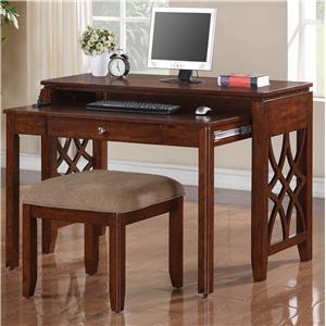 Standard Furniture 23448 Woodmont Series Writing  Wood Desk