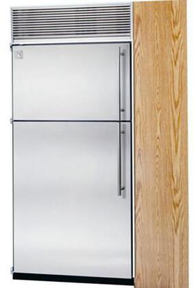 Northland 36TFWPL Built In Counter Depth Top Freezer Refrigerator with 23.6 cu. ft. Total Capacity 8 Glass Shelves 7.3 cu. ft. Freezer Capacity