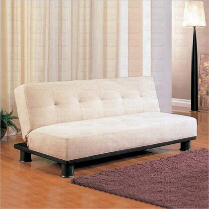 Coaster 300165  Convertible Microfiber Sofa