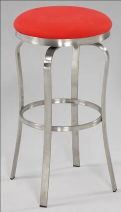 Chintaly 1193CSRED  Bar Stool