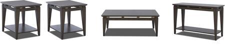 Klaussner 645KL4PCRC2RERSKIT1 Regency Living Room Table Sets