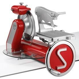Sirman Anniversario With Blade Flywheel Slicer, Removable Carriage.