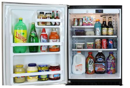 Marvel 6ARMBBFLR  Built In Counter Depth Compact Refrigerator with 5.29 cu. ft. Capacity, 2 Glass Shelves