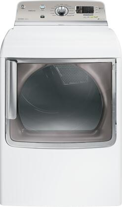 GE GHDS830EDWS Adora Series Electric Dryer, in White
