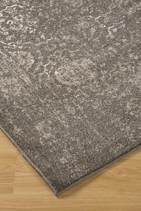 """Milo Italia Annalise RG440411TM """" x """" Size Rug with Polypropylene Material in Brown Color"""