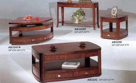 Yuan Tai AB323CESET3 Abridge End Tables