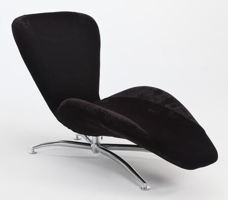 Chintaly CARRERABLK  Lounge Chair
